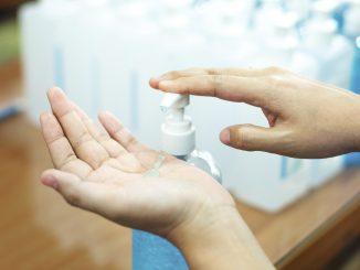 dezynfekcja dłoni
